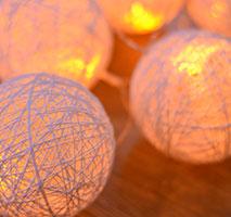 糸で作る手まりランプ(1DAY)