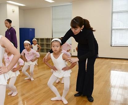 子供クラシックバレエ1